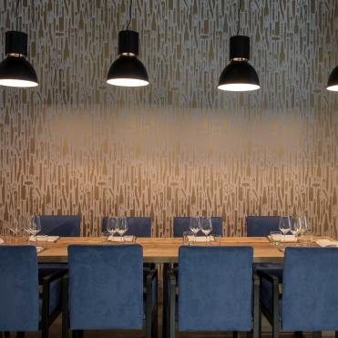 oro restaurant milano_ sala privè