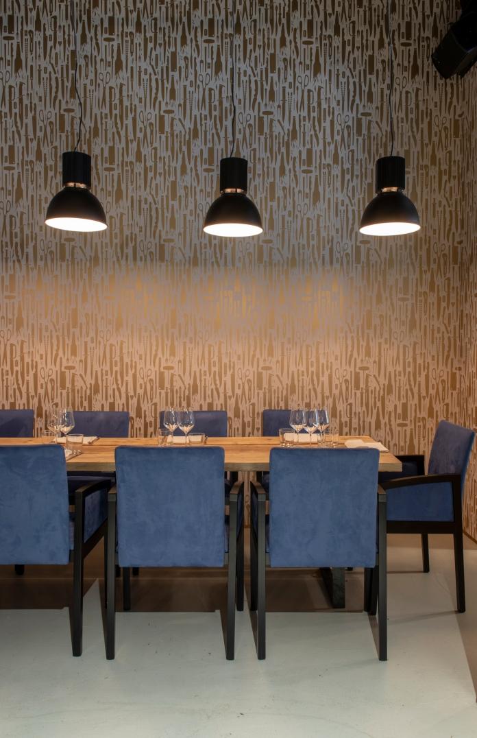 oro restaurant milano_private room